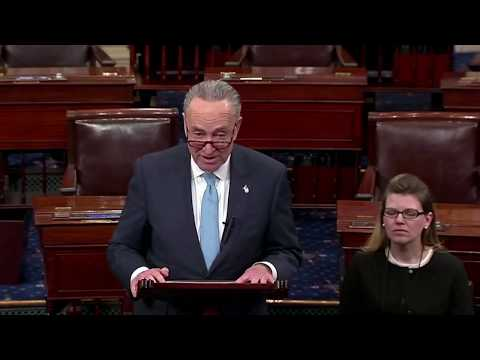 """""""He needs to Thank Obama"""" Chuck Schumer on Trump's State of the Union Address"""