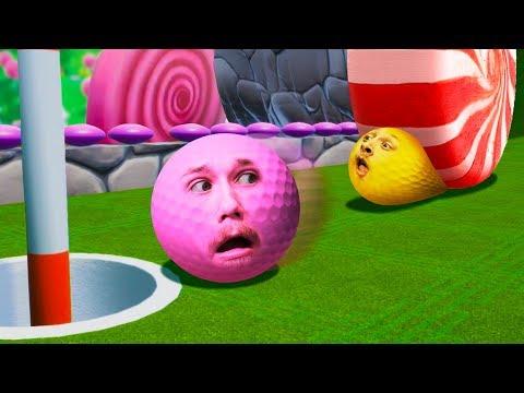 Mini Golfing In Candy Land! | Golf It!