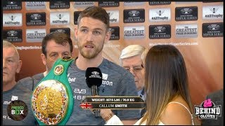 CALLUM SMITH & NIEKY HOLZKEN PROMISE VICTORY IN WORLD BOXING SUPER SERIES SEMI FINAL
