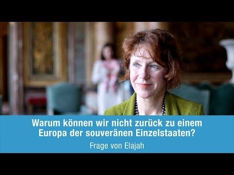 Ulrike Guérot beantwortet Elajahs Frage