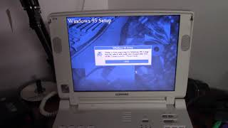 Installing Windows 95 on the Compaq Armada 7730MT