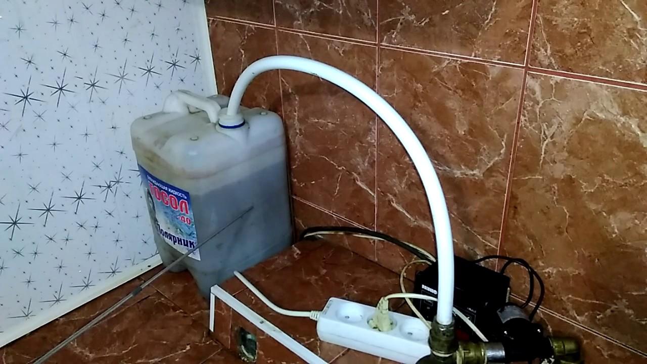 Расширительный бак для открытого отопления своими руками фото 829