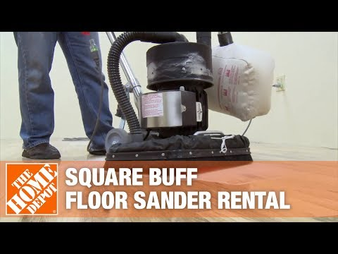 American Sanders Square Buff Floor Sander The Home Depot Rental