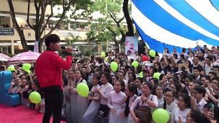 Gin Tuấn Kiệt được cổ vũ cuồng nhiệt khi hát live Yêu Em Từ Cái Nhìn Đầu Tiên