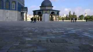 Walking On Temple Moun Jerusalem, Israel! HD