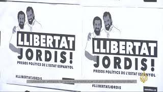 مظاهرات في برشلونة لاعتقال زعيمين بالحركة الكتالونية