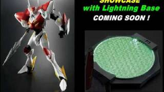 Bandai Action Base Lightning base Plate Green ver. Preview.