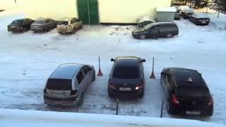 Парковка автомобиля задним ходом