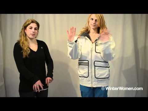 Volcom Women's Cinema Insulated Jacket.m4v