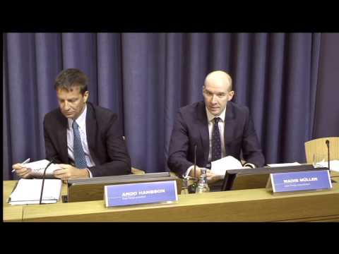 Eesti Panga finantsstabiilsuse ülevaate esitlus