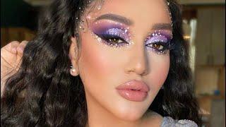 Тюнингуюсь с Гоар Аветисян блестящий макияж от Goar Instagram