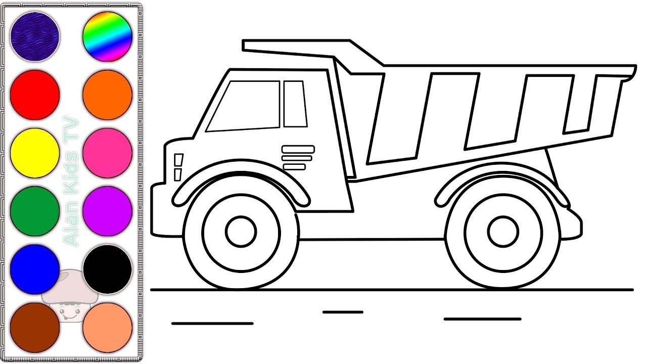 belajar menggambar dan mewarnai mobil bego learn drawing