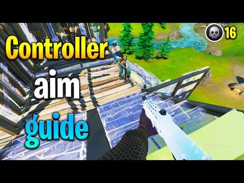 How To AIM BETTER In Fortnite ON CONTROLLER! (PS4/Xbox Aiming Guide)