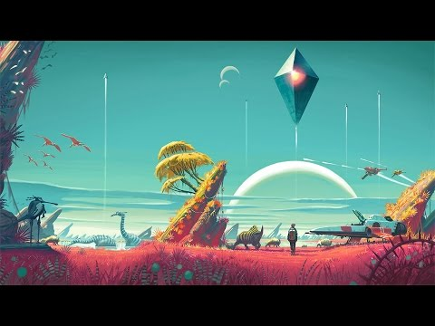 No Man's Sky OST - SuperMoon [Extended] + Cinematics