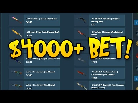 $4000+ BET ON CSGOLOTTO! BOWIE FADE GIVEAWAY IF I WIN!