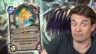 (Hearthstone) Lyra VS Yogg: The Showdown