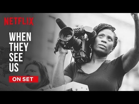 Strong Black Leads On Set | When They See Us | Netflix