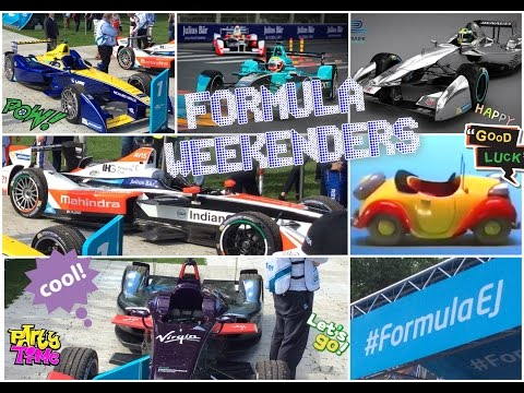 FORMULA E, LONDON, BATTERSEA PARK EPRIX! Part 1 | Formula Fan