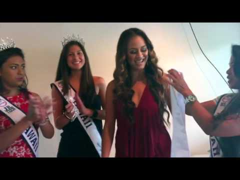 The Hawaii, American Samoa, Guam, & N. Mariana Islands Miss United States Pageant Family