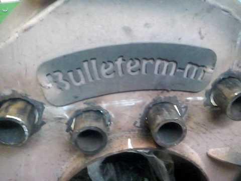 Печь Булерьян с водяным контуром (Часть 1)