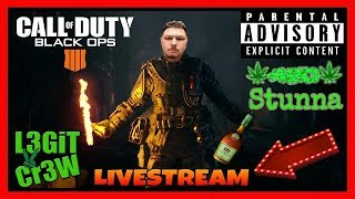 Call Of Duty BO4! Friday Night So You Know We Getting Right On BO4! #L3GiTCr3W #BO4