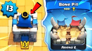 🔥 13LVL NA 2 ARENIE?! *MEGA* WIELKI OPENING! | Clash Royale