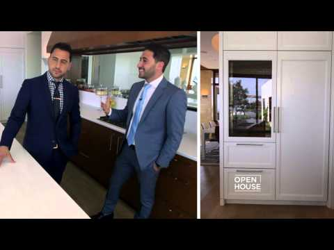 Matt and Josh Altman show an impressive home in the Hollywood Hills