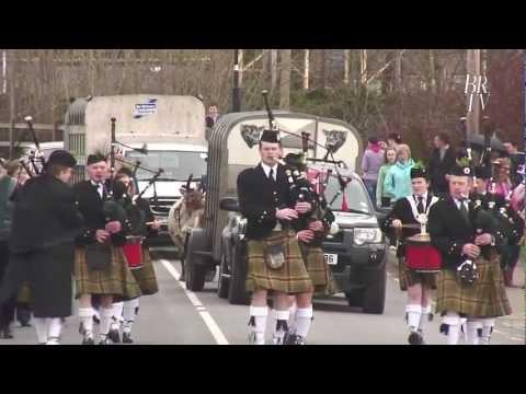 St. Patricks Day Parade in Oram 2012