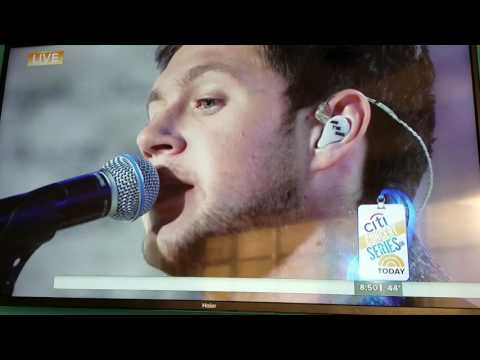 Niall Horan on The Today Show. - This Town...