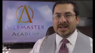 Webmaster Academy 101 Intro Video