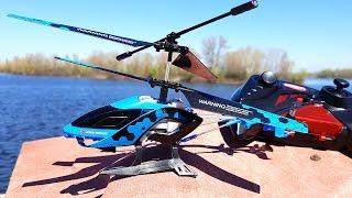 Вертолет на ИК управлении   STALKER синий, 20 см, 3 канальный Auldey(Юра расскажет про Вертолётик на радиоуправлении STALKER производства Auldey. Вертолет управляется через инфрак..., 2016-04-19T00:39:34.000Z)