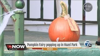Pumpkin Fairy Leaves Pumpkins On Porches In Hazel Park