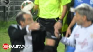 Barletta vs. Martina - Fine Primo Tempo - Lega Pro 2014/2015