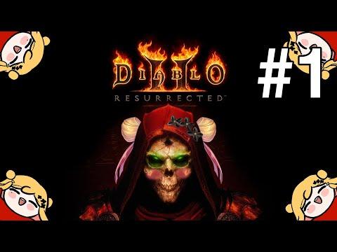 【Diablo II : Resurrected】 初めてプレイします / 처음입니다 【NIJISANJI KR   セフィナ】