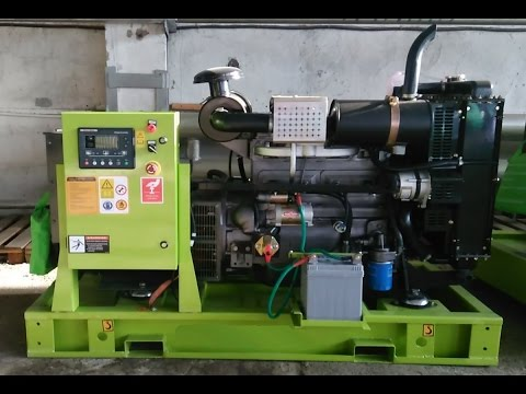 Дизельный генератор 50 кВт (АД-50-Т400) на базе Ricardo, открытый