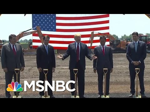 Foxconn May Not Build $10B Wisconsin Plant President Donald Trump Touted | Hardball | MSNBC
