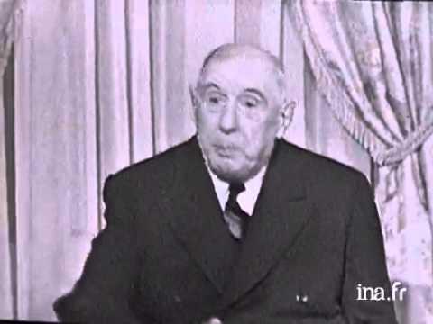 Un entretien avec le général de Gaulle en 1965