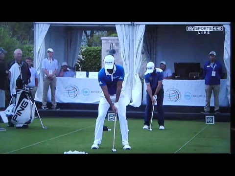 Jason Day golf swing (iron swing) - analysis from Tim Barter of Sky Sports (March 2016)