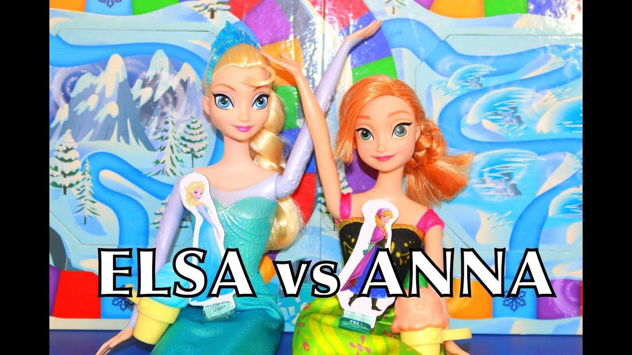 Elsa Anna princess barbie dress up Games - yiv.Com