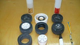 видео: ремонт колес rc-модели 2 способа