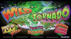 Multimedia Games - Wild Tornado Slot Bonus