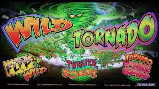Multimedia Games - Wild Tornado Slot Bonus