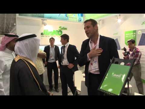 Saudi Energy 2014 - Mathew Sylvester - Jinko Solar