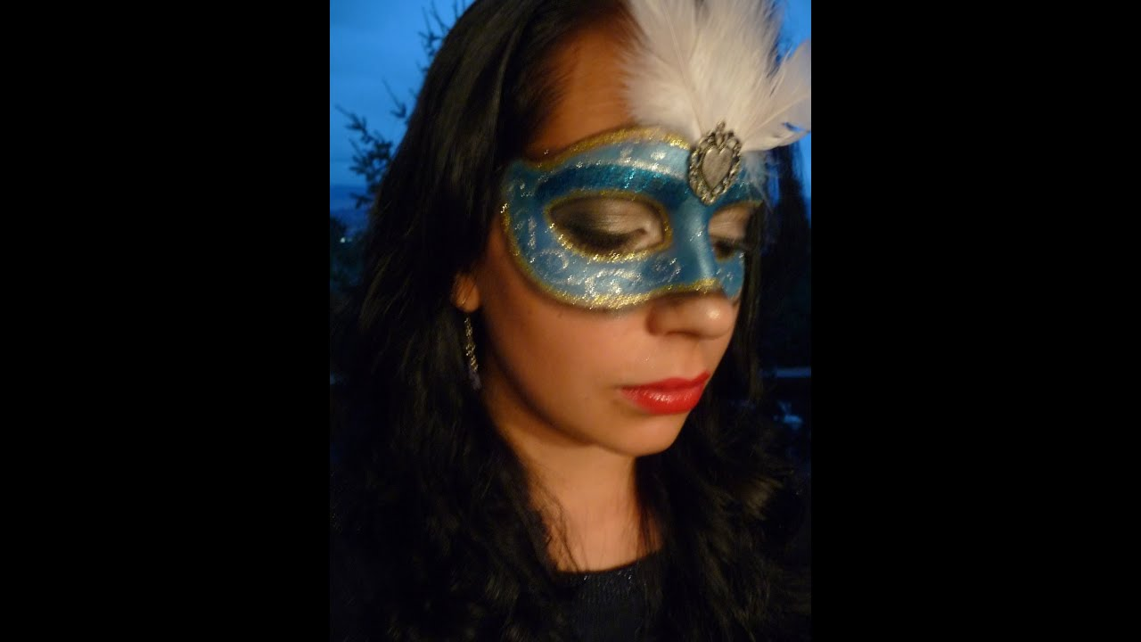 Youtube Makeup Tutorials Popular: Venetian Masquerade Mask Makeup Tutorial