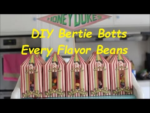 DIY Bertie Botts Every Flavor Beans - YouTube