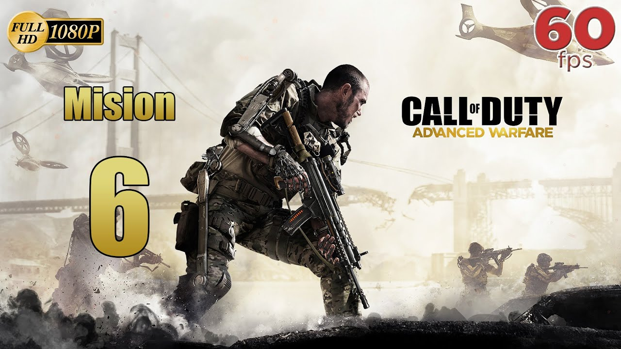 Call of Duty Advanced Warfare Mision 6 Caza Humana | Español Gameplay PC PS4 XboxOne 60 fps 1080p