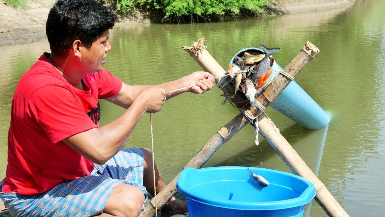 Unique Fish Trapping Make From PVC | മീൻ പിടിക്കാൻ ഇനി PVC പൈപ്പ് മതി | New Technique