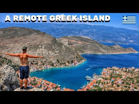 I TRAVELLED TO GREECE FOR ONE DAY 🇬🇷 THE REMOTE ISLAND OF KASTELLORIZO