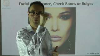 Facial Appearance, Cheek Bones or Cheek Bulges By Dr Mike Mew YouTube Videos