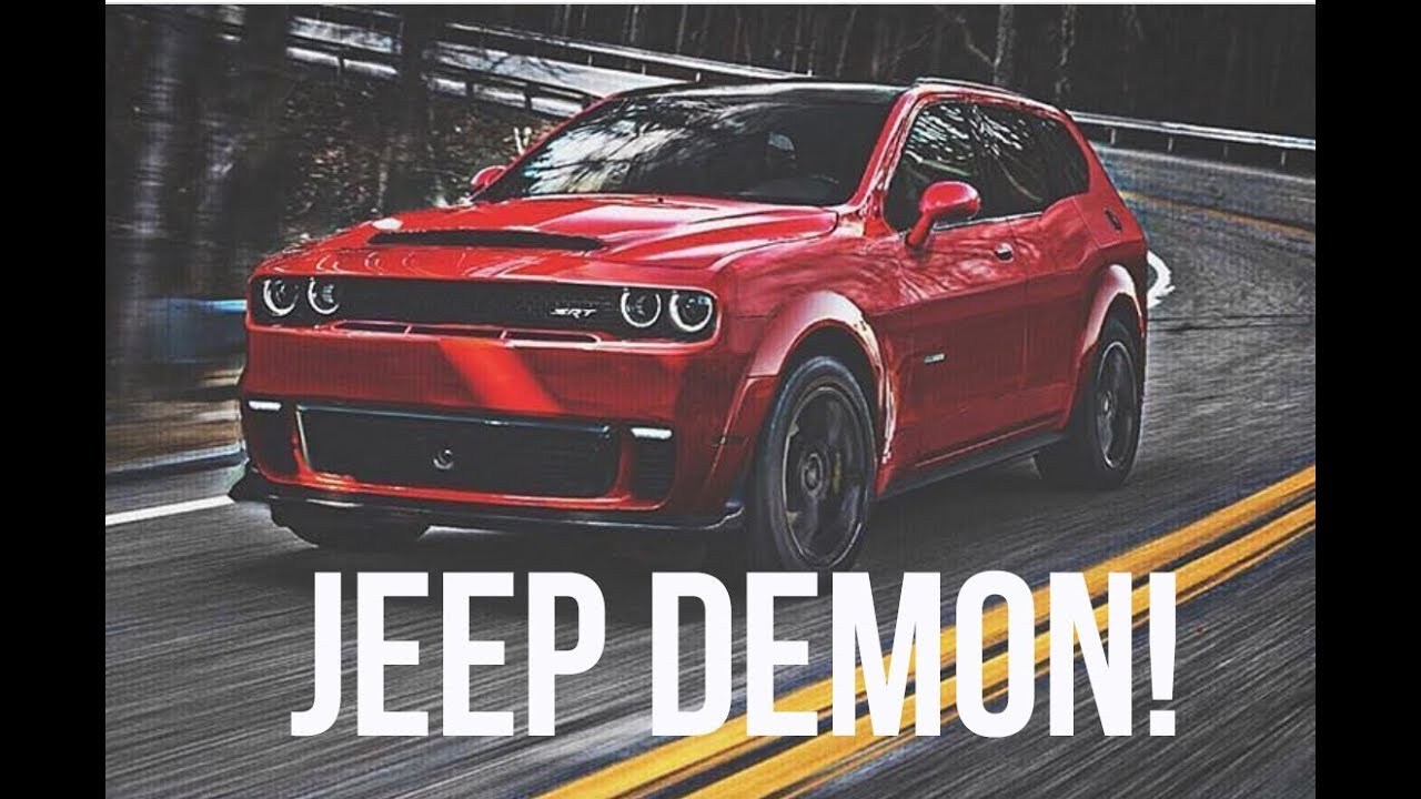 Jeep Grand Cherokee Trackhawk >> NEW JEEP GRAND CHEROKEE DEMON! (BYE TRACKHAWK) - YouTube